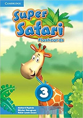 Super Safari Level 3 Flashcards (Pack of 78) - фото книги