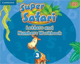Робочий зошит Super Safari Level 3 Letters and Numbers Workbook