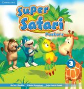 Super Safari Level 3 Posters (10) - фото обкладинки книги