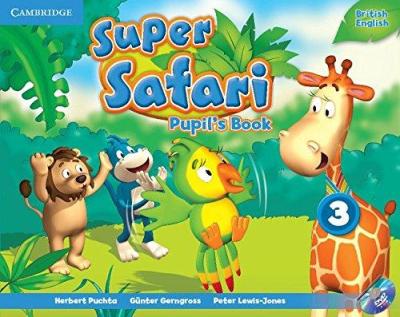 Підручник Super Safari Level 3 Pupil's Book with DVD-ROM