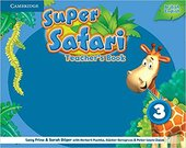 Super Safari Level 3 Teacher's Book - фото обкладинки книги