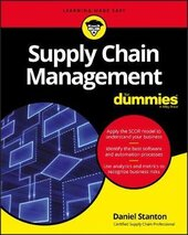 Supply Chain Management For Dummies - фото обкладинки книги