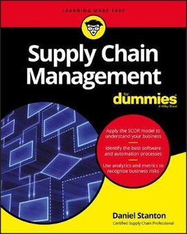 Supply Chain Management For Dummies - фото книги