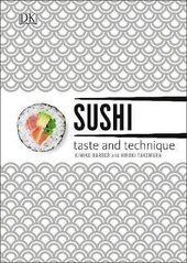 Sushi Taste and Technique : Kimiko Barber and Hiroki Takemura - фото обкладинки книги