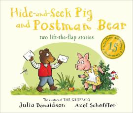 Tales from Acorn Wood: Hide-and-Seek Pig and Postman Bear - фото книги
