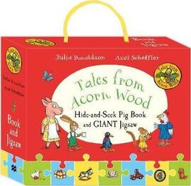Tales from Acorn Wood: Hide-and-Seek Pig Book and Jigsaw Set - фото книги