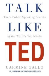 Talk Like TED: The 9 Public Speaking Secrets of the World's Top Minds - фото обкладинки книги