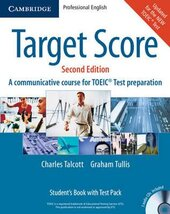 Target Score 2ed. Student's Book with Audio CDs - фото обкладинки книги