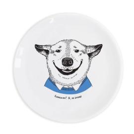 Тарілка «Собака-посмішака» - фото книги
