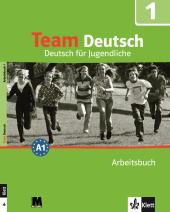 Team Deutsch 1 Arbeitsbuch - фото обкладинки книги