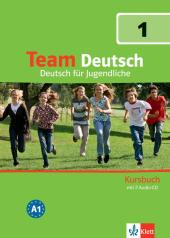 Team Deutsch 1 Kursbuch + Audio CDs - фото обкладинки книги