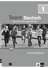 Team Deutsch 1. Lehrerhandbuch - Книга для вчителя - фото обкладинки книги