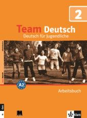 Team Deutsch 2 Arbeitsbuch - фото обкладинки книги