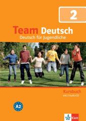 Team Deutsch 2 Kursbuch + Audio CDs - фото обкладинки книги