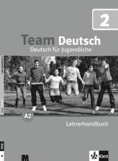 Team Deutsch 2 Lehrerhandbuch - фото обкладинки книги