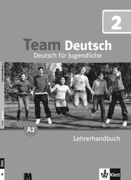 Team Deutsch 2 Lehrerhandbuch - фото книги