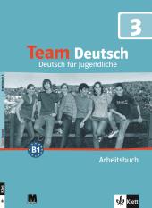 Team Deutsch 3 Arbeitsbuch - фото обкладинки книги