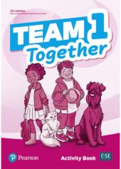 Team Together 1 Activity Book - фото обкладинки книги