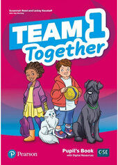 Team Together 1 Pupil's Book with Digital Resources - фото обкладинки книги