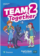 Team Together 2 Pupil's book with Digital Resources - фото обкладинки книги