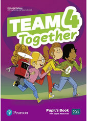 Team Together 4 Pupil's book with Digital Resources - фото обкладинки книги