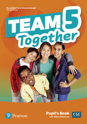 Team Together 5 Pupil's book with Digital Resources - фото обкладинки книги