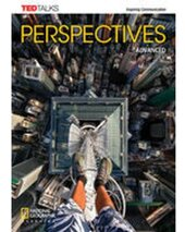 TED Talks: Perspectives Advanced Student Book with Online Workbook - фото обкладинки книги