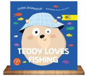 Teddy loves fishing - фото обкладинки книги