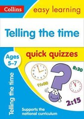 Telling the Time Quick Quizzes. Ages 5-7 - фото обкладинки книги
