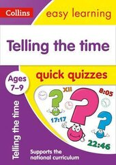 Telling the Time Quick Quizzes. Ages 7-9 - фото обкладинки книги