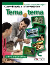 Tema a tema - Curso de conversacion : Libro del alumno - фото обкладинки книги