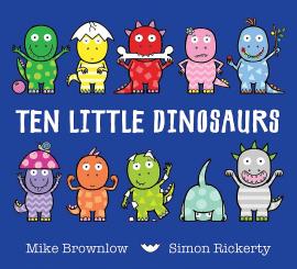 Ten Little Dinosaurs - фото книги