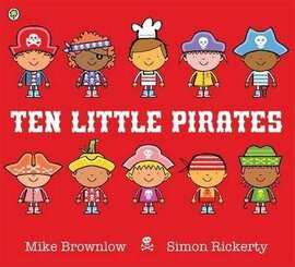 Ten Little Pirates : Ten Little Pirates - фото книги