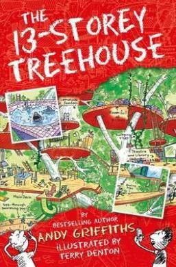 The 13-Storey Treehouse - фото книги