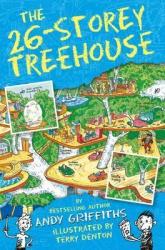 The 26-Storey Treehouse - фото обкладинки книги