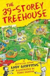 The 39-Storey Treehouse - фото обкладинки книги