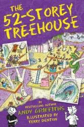 The 52-Storey Treehouse - фото обкладинки книги