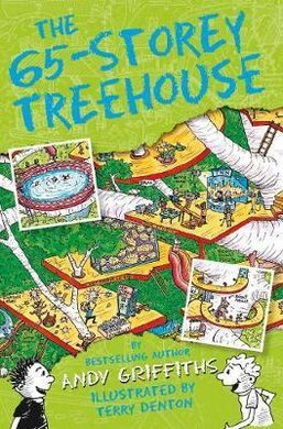 The 65-Storey Treehouse - фото книги