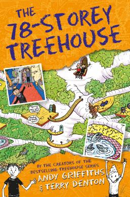 The 78-Storey Treehouse - фото книги