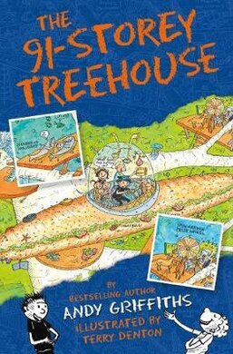 The 91-Storey Treehouse - фото книги