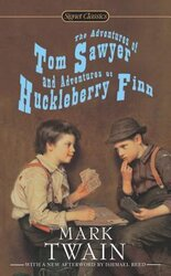 The Adventures of Tom Sawyer and Adventures of Huckleberry Finn - фото обкладинки книги