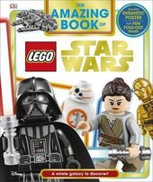 The Amazing Book of LEGO (R) Star Wars: With Giant Poster - фото обкладинки книги