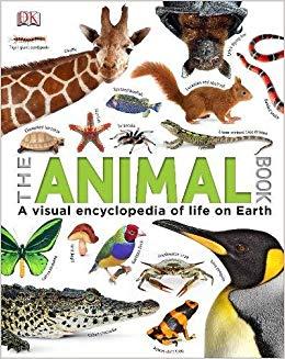 The Animal Book : A Visual Encyclopedia of Life on Earth - фото книги