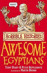 The Awesome Egyptians - фото обкладинки книги