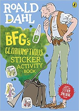 The BFG's Gloriumptious Sticker Activity Book - фото книги