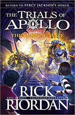 The Burning Maze (The Trials of Apollo Book 3) - фото книги