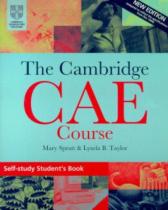 Підручник The Cambridge CAE Course Self-Study Student's Book