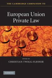 The Cambridge Companion to European Union Private Law - фото обкладинки книги