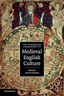 Книга The Cambridge Companion to Medieval English Culture