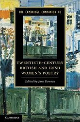 The Cambridge Companion to Twentieth-Century British and Irish Women's Poetry - фото обкладинки книги